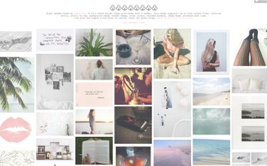 Free high quality Tumblr themes Online Theme Responsive multicolumn layout Customizable colors and header image