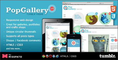 Tumblr_Grid_Theme_Responsive_Pop_Gallery