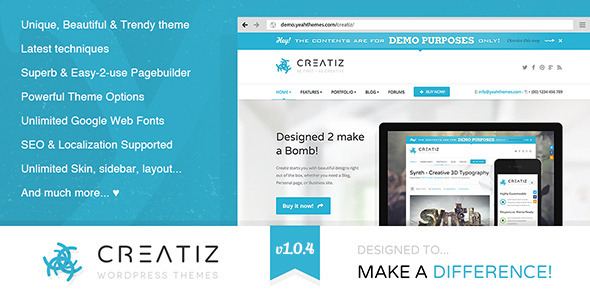 creatiz_theme review