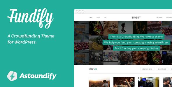 fundify-crowdfunding-wordpress-theme