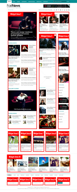 fast-news-frontpage-layout