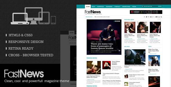 fast-news-wordpress-theme