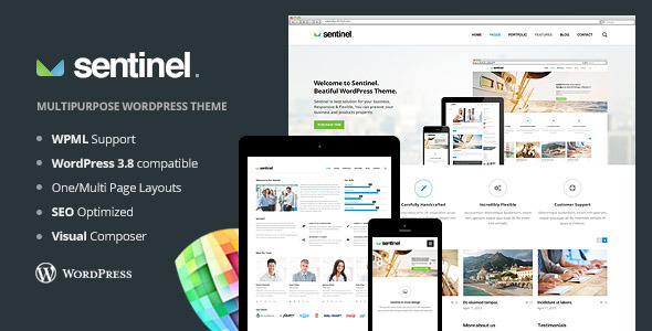 sentinel-wordpress-theme