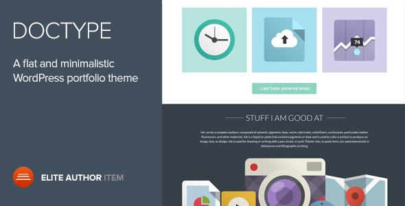 flat-wordpress-theme-doctype