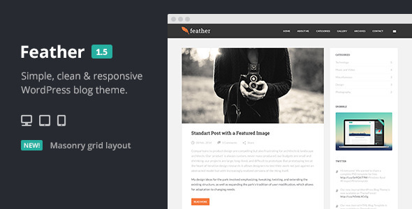 flat-wordpress-theme-feather